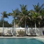 Cabanas on the Infinity Pool