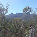 Mt Kaputar volcanic history evident