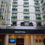 Зона регистрации отеля