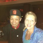 My favorite chef! Red Zen restaurant.