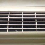 inside ac vent