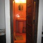 Salle de bain gingembre