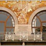 Visite de l'hôtel Ciamberlani de Paul Hankar