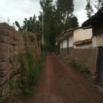 vers la route d'Urubamba