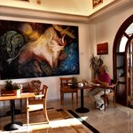 Art work in dining room  Wonderful!!