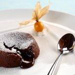 Warm Valrohna Chocolate Lava