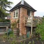 A brick built summer house