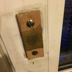 The door handle was here long long time ago