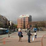 Vendo o hotel da Plaza de Toros