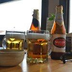まずは、ビールをオーダー