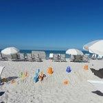 Juegos y sillas de playa