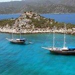 Tekne Turu / boat trip at Fethiye The Grand Ucel Hote