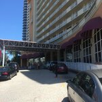 Driveway in front of Ramada Plaza Marco Polo