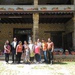 Group photo with Mrs Rekhaben Bhatt.