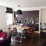 Kitchen area - Apartment 21