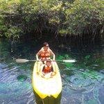 La experiencia de Kayak inluido fue muy relajante