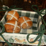 Hot Cross buns, yummy.