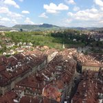 View of old town from top of cathedral