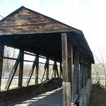 6. Cuppett Covered Bridge, NSFW (not safe for walking)