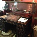 Dickens original writing desk.