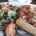 VEGETABLES and Shrimp