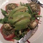 Avocado Salad from set menu