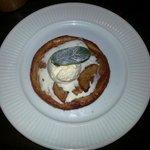 Tarte Fine Aux Pommes (Fine Layered Apple Tart with Vanilla Ice-cream).