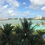 View of Tumon Bay from my room