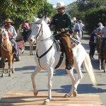 Tope Parade - Esteban Peraza and Conejo