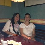 Con mi amiga Adelita San Vicente, de visita a la Sirena Gorda
