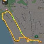 Hiking map Aliso Park-Ritz Carlton-Dana Point boardwalk-Compass-Dana Point Bluff Top trail to ha