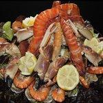 wonderful seafood - good portions!