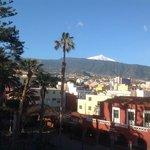 Mount Teide from our balcony