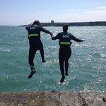Pier Jumping!