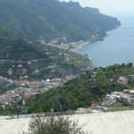 Amalfi drive view