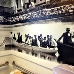 New murals feature old photos of Woods Hole in the 1890s