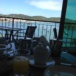 Vista do Restaurante / Café da Manhã