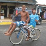 Surf instructors will ride by asking if you want lessons! These guys are the best!