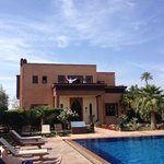 Villa avec balcon de la chambre nº8
