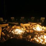 Fire pit is open until 9pm