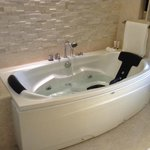 Great soaking tub!