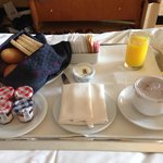 Room service - not as impressive as the breakfast buffet