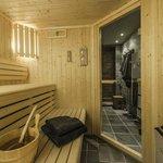 Chalet Belvedere sauna