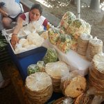Nice vegetables and tortillas