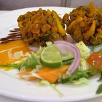 Vegetable Pakora entree
