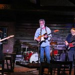 Blues band session in the Blue Moon Bar and Grill
