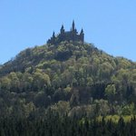 A view of Hohenzollern from the road