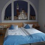 La nostra camera a tema Venezia