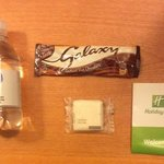 The Complimentary Soap and other items.