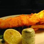 Fish and Chips at The Ship Inn Styal
